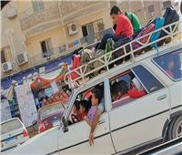 أطفال على الشبكة  سيارة نقل تلاميذ تثير الغضب على الـ«فيسبوك»