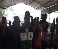 محمد عادل إمام يصل صلاة جنازة «هيثم أحمد زكي»