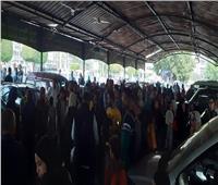 فيديو و صور| حشد كبير من الجمهور لتوديع هيثم أحمد زكي