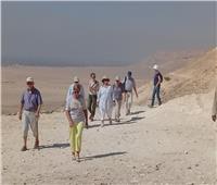 المناطق الأثرية بالمنيا تستقبل وفودا سياحية من 5 دول