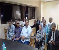 صور| محاضرة عن المولد النبوي بـ«ثقافة الإسكندرية»
