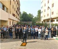 رئيس جامعة القاهرة يؤدي صلاة الغائب على طالبة «طب بيطري»