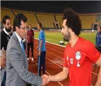 وصول محمد صلاح إلى القاهرة