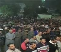 صور| تشييع جثمان ضحية قطار الإسكندرية