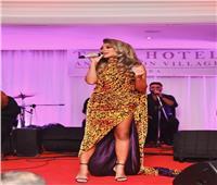 صور| مايا دياب تخطف الأنظار في حفل طابا