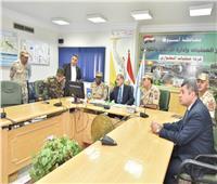 محافظ أسيوط وقائد «الدفاع الشعبي» يتفقدان مركز إدارة الكوارث والأزمات بالمحافظة