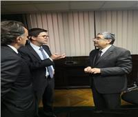 وزير الكهرباء يلتقي وفد بنك التعمير الألماني