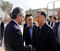 وزير الآثار يستقبل رئيس المجلس الاستشاري الصيني بالهرم