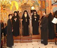 البابا ثيودروس يترأس صلاة عيد القديس يوحنا