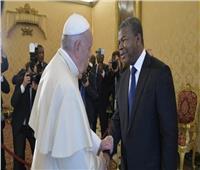 البابا فرنسيس يستقبل رئيس جمهورية أنجولا
