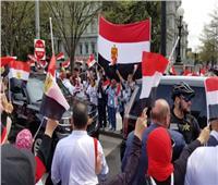 الجاليات المصرية بأوروبا تنظم وقفة أمام «الأمم المتحدة» لفضح الجهات المتآمرة ضد مصر
