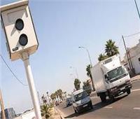 ضبط 1355 سيارة تسير بسرعات جنونية بالطرق الرابطة بين المحافظات