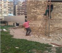 بدء أعمال إصلاح طاحونة المندرة الأثرية لمنع انهيارها