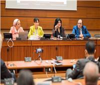 إيمان بيبرس تشارك في جلسة «المرأة المصرية الإنجازات والتحديات» بجنيف