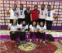 4 مصريين يشاركون في بطولة الكاميرون الدولية للريشة الطائرة