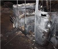 النيابة العامة تعاين جثامين ضحايا حريق خط أنابيب البترول بإيتاي البارود