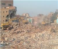 إزالة ٢٠ عقارًا بمنطقة المدابغ وتسكين ١٩ أسرة من الأهالي