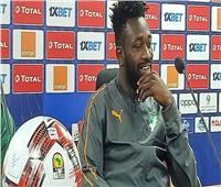 لاعب منتخب كوت ديفوار الأوليمبي: البطولة قوية للغاية.. وجاهزون للقاء زامبيا