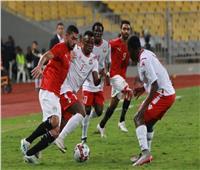 انطلاق الشوط الثاني من مباراة مصر وكينيا