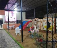 صور| ملاهي لتشجيع الأطفال على التقدم لمركز شباب أكياد دجوي بطوخ