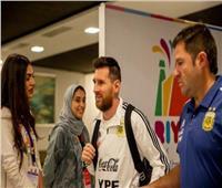 شاهد| تركي آل الشيخ يستقبل ميسي في الرياض
