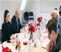 وزيرة الاستثمار تبحث مع مؤسسة سويسرية التعاون في مجالات السيارات وتحلية المياه