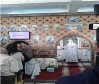 كنيسة سيدي بشر تستقبل رفات القديسة تريزا