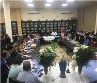 النائب البطريركي يلتقي المجلس الإقليمي لجنود مريم