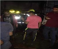الحماية المدنية تسيطر على حريق محل زيوت بمدينة نصر