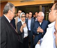 وزيرة الصحة تطالب بسرعة الانتهاء من تطوير مستشفى بورسعيد العام