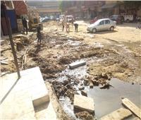 صور| سكان شارع ترعة عبد العال: أسبوع دون مياه والمجاري تحاصرنا