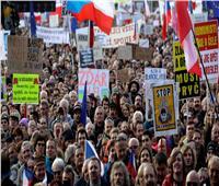 التشيك... احتجاجات ضد الرئيس ورئيس الوزراء عشية ذكرى الثورة المخملية