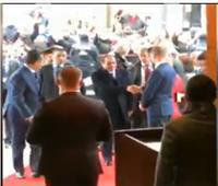 فيديو| لحظة وصول الرئيس السيسي للعاصمة الألمانية برلين