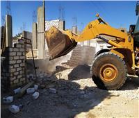 محافظ قنا: إزالة 21 حالة تعدٍ بالمباني والزراعة على أملاك الدولة بدشنا