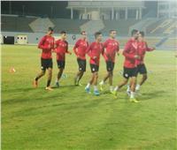 بالصور| منتخب مصر الأوليمبي يواصل الاستعداد لجنوب إفريقيا