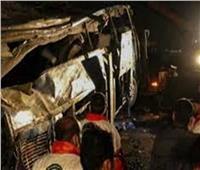 مصرع وإصابة 8 أشخاص في حادث تصادم بسيناء