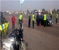 استمرار الحملات المرورية لرصد مخالفات الطرق