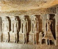 افتتاح مقبرتي «إيدو وقار» بمنطقة آثار الهرم