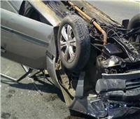 إصابة 6 أشخاص في انقلاب سيارة بزارعي ملوي