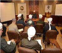 أمين عام مجمع البحوث الإسلامية يلتقي بأئمة وعلماء كردستان العراق
