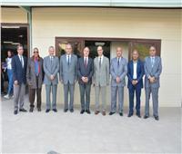 رئيس جامعة أسيوط يشهد افتتاح النسخة الثالثة من معرض الكتاب