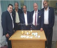 بالصور| إحباط تهريب أدوية وأقراص مخدرة بمطار برج العرب