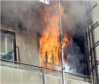 الدفع بـ4 سيارات للسيطرة على حريق هائل في شقة بالمقطم