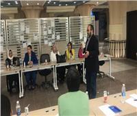 عقد الاجتماع الأول لأعضاءمكاتب الابتكار وريادة الأعمال بكليات جامعة عين شمس