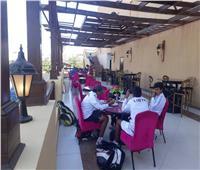 إشادة واسعة من الوفود المشاركة في بطولة أفريقيا للتنس