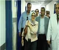 وزيرة الصحة توجه بتطوير سكن الأطباء بـ«أبورديس المركزي»
