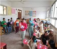 صور| عيد الطفولة مع ذوي الاحتياجات الخاصة بثقافة المنوفية