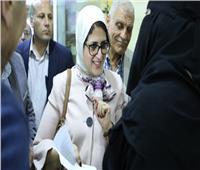 وزيرة الصحة تتفقد المركز الطبي الحضري بطور سيناء وتوجه بسرعة الانتهاء من تطويره
