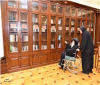 بعد افتتاح قداسة البابا تواضروس لها.. تعرف على المكتبة الباباوية المركزية