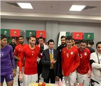 وزير الرياضة عن المقارنة بين المنتخب الأول والأولمبي: «مش قلقان»